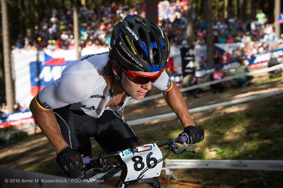 9th place at XC-WM for MÜSING team-rider Lukas Baum